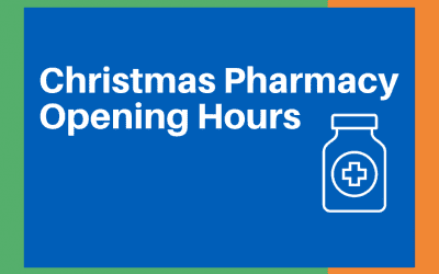 Gloucestershire Christmas Pharmacy Opening Hours