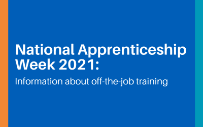 National Apprenticeship Week 2021: Information about off-the-job training