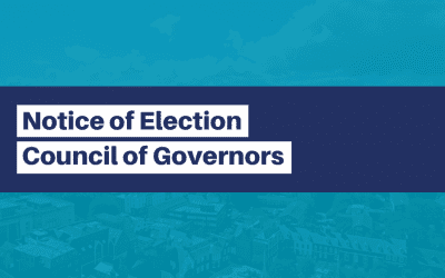 Notice of Election – Council of Governors