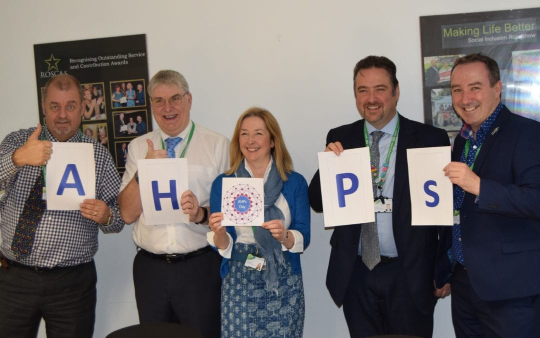 2gether's Executive Team celebrate AHPs Day