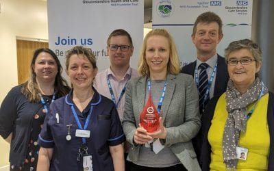 National award win for innovative work around patient data