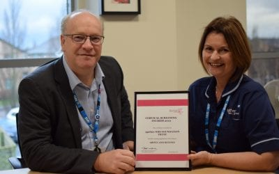 Gloucestershire cervical screening project wins national award
