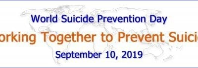 Working together to prevent suicide – World Suicide Prevention Day 2019