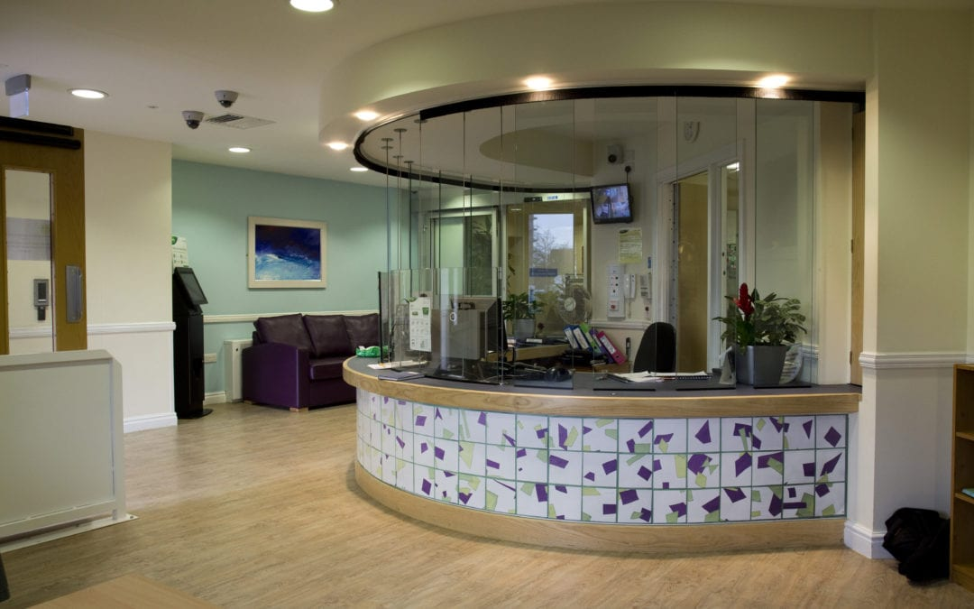 Wotton Lawn Reception Area